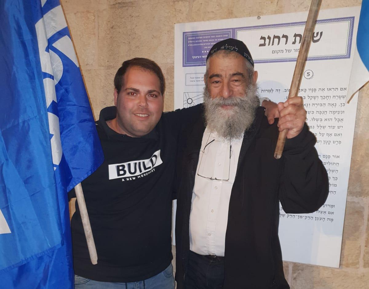 אבוקסיס ואריאל זילבר (צילום: פרטי)