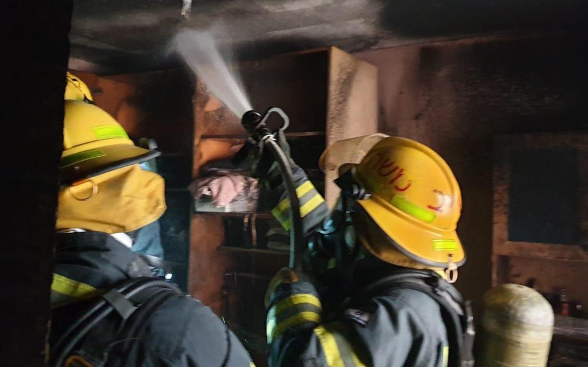 """שריפה בריב""""ל (צילום: דוברות כבאות והצלה בית שמש)"""
