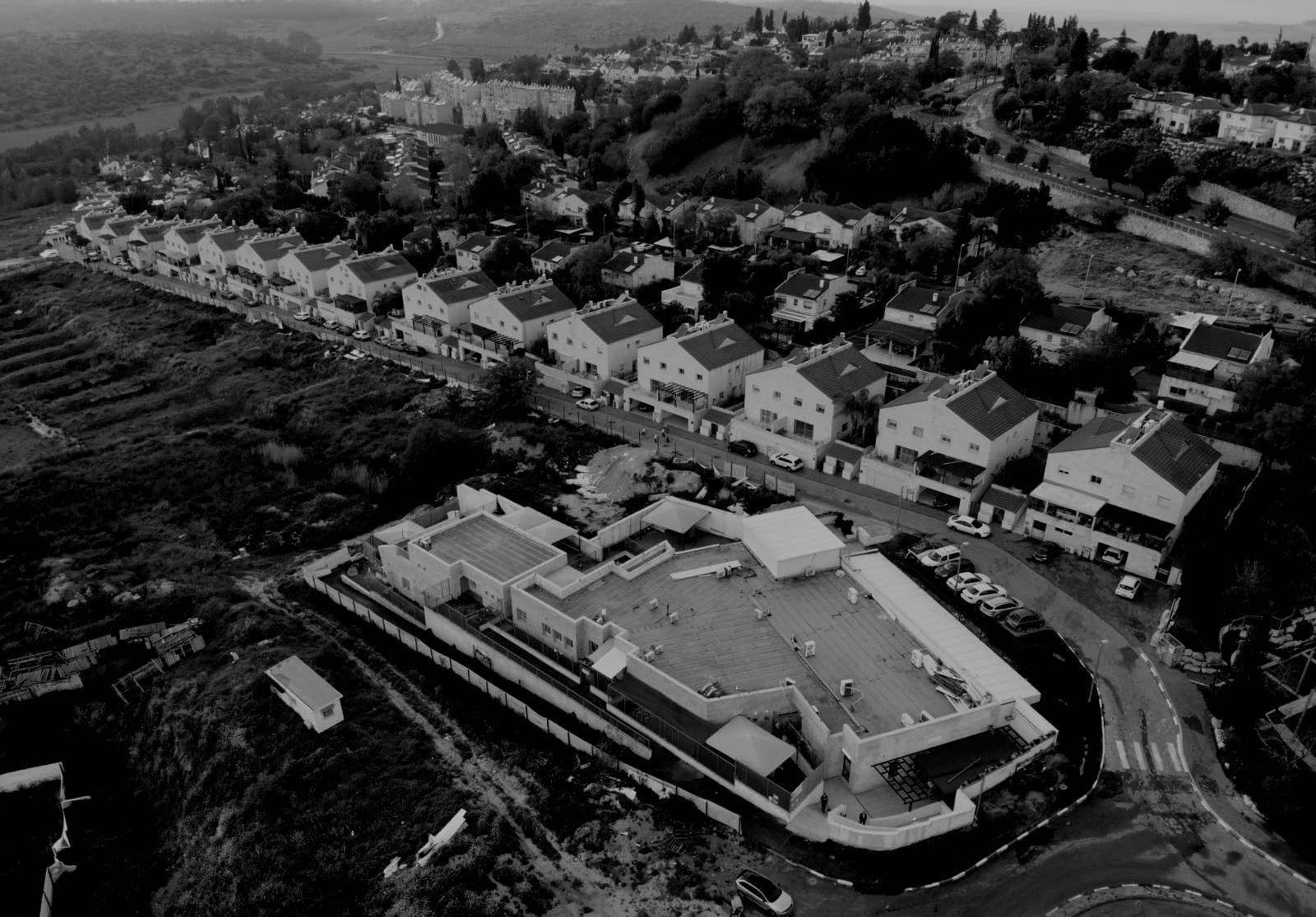 העיר בית שמש בשחור לבן (צילום: s.t)