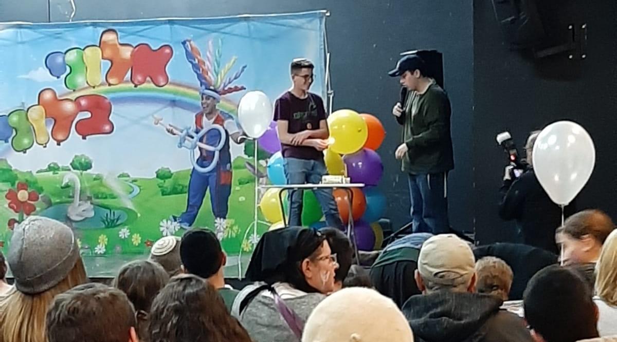 """אירוע לילדים עם צרכים מיוחדים במתנ""""ס גוונים (צילום: עת לעשות)"""