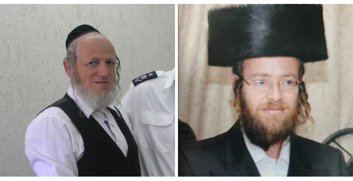 """מימין: הרב אברהם גלבמן ז""""ל ויו""""ר זק""""א יהודה משי-זהב (צילומים: באדיבות המשפחה, דוברות מד""""א)"""