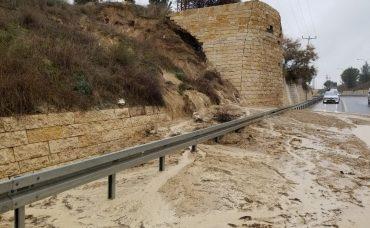 כביש 10 ביציאה מרמת בית שמש (צילום: דוד לף)