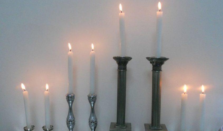 נרות שבת (צילום: ציון הלוי-מתוך ויקיפדיה)