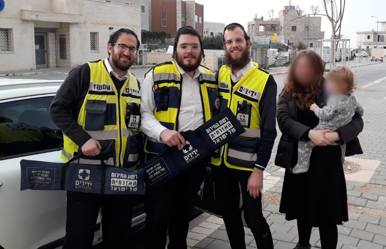 (צילום: ידידים סיוע בדרכים)