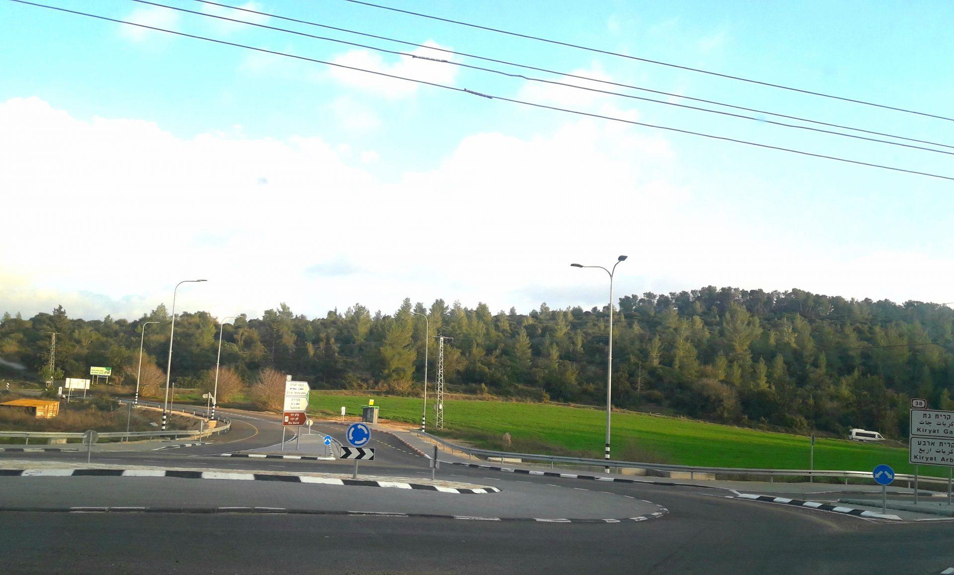 אזור במועצה האזורית מטה יהודה (צילום: s.t)
