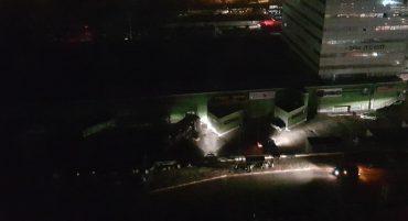 הפסקות חשמל בשער העיר (צילום: פרטי)
