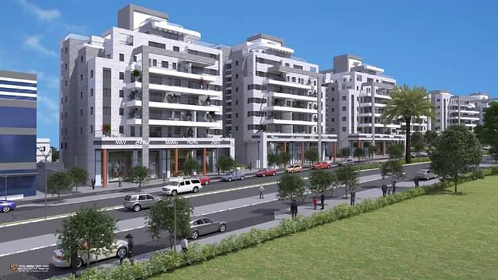 פרויקט נתיב ברמה של קבוצת נתיב פיתוח ברמת בית שמש ד3 (צילום הדמיה: משרד אדריכלים לארי שטרנשיין)