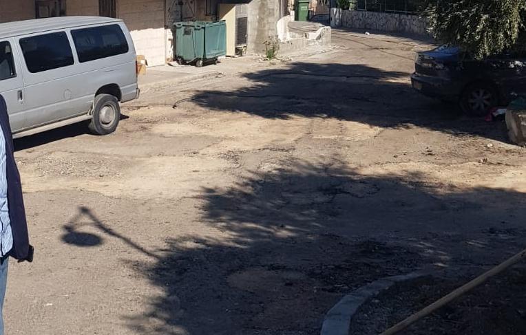 חניה בבית שמש הוותיקה (צילום: פרטי)