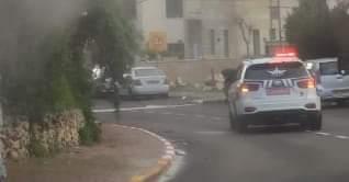 ניידת משטרה (צילום: באדיבות דוברות כבאות והצלה)