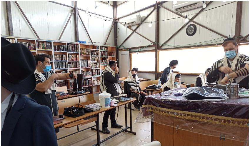 בית הכנסת קהילת אברהם בבית שמש (צילום: ירוחם אסטריכר)