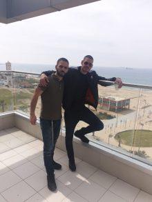 קובי יעקב וראובן אלחרר, בעלי 'סטקייה בעיר' (צילום: פרטי)