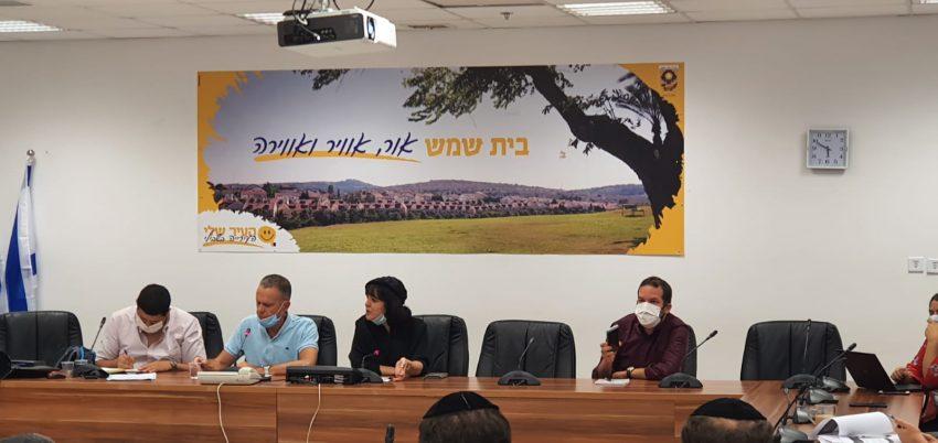 ישיבת מועצת העירייה השבוע (צילום: דוברות העירייה)