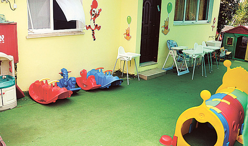 חצר משחקים בגן ילדים (צילום אילוסטרציה: זאב שטרן)