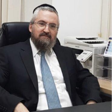 ישראל סילברסטין - המשנה לראש העיר בית שמש (צילום: פרטי)