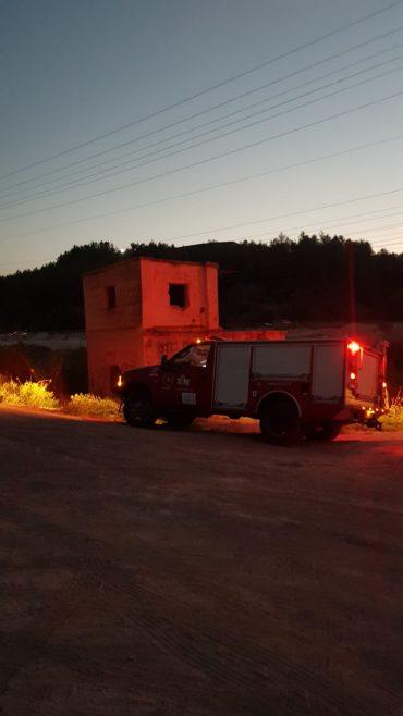 עבודות החילוץ סמוך לבור המים (צילום: דוברות כבאות בית שמש)