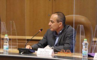 פרופ' רוני גמזו - פרויקטור הקורונה (צילום: דוברות עיריית ירושלים)