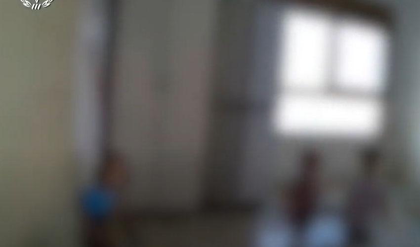 גן ילדים שפעל בניגוד להגבלות הקורונה - צילום מסך מתוך סרטון המשטרה (צילום: דוברות המשטרה)
