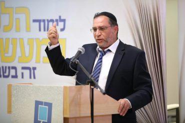 הרב בן ציון אלגאזי, ראש מכון צורבא מרבנן (צילום: צורבא מרבנן)