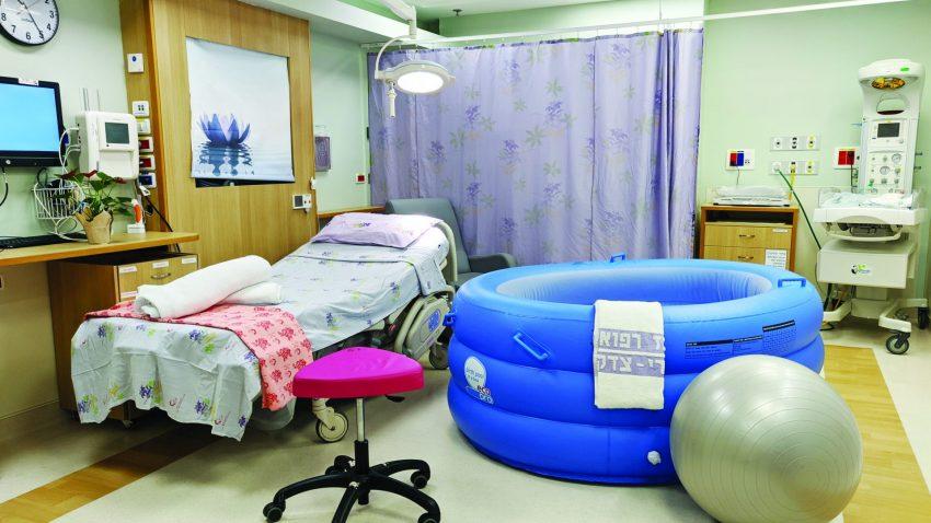 חדר לידה שערי צדק (צילום: דוברות שערי צדק)