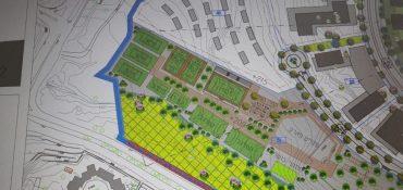 מפת הספורטק המתוכנן בעיר בית שמש (צילום: פרטי)