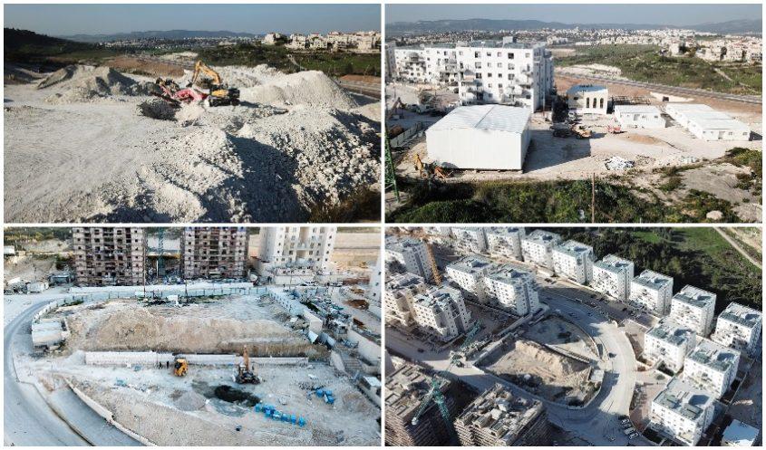 פרויקטים בעיר בית שמש (צילום: רווח הפקות עבור החברה הכלכלית)